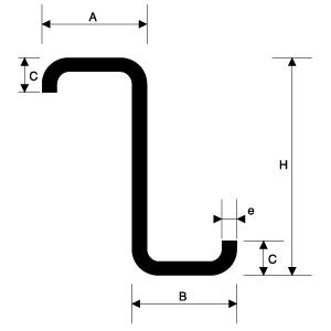 Productos correas correas z perfiles de alimunio - Estructuras metalicas murcia ...